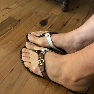 Dolce and Gabbana flat sandal
